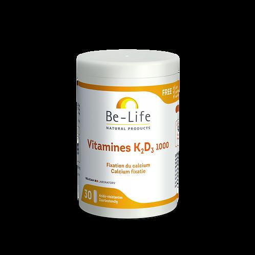 Vitamines K2-D3 1000 30 gel