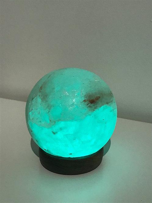 Lampe de sel USB boule (change de couleur)