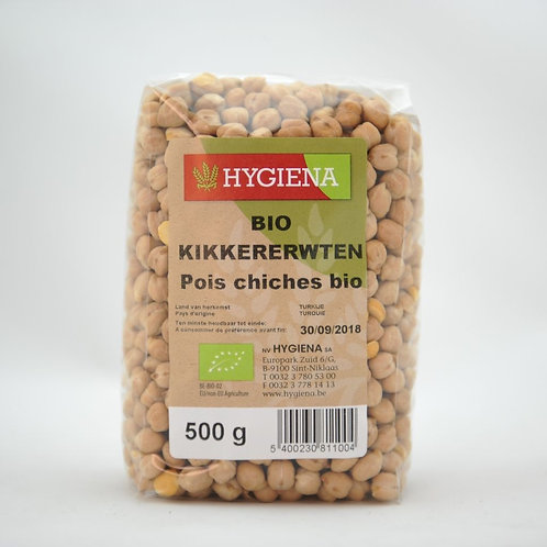 HYG Pois chiches bio 500 g