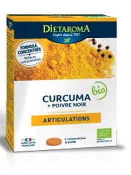 Curcuma 2000 & Poivre Noir Bio 60 comp