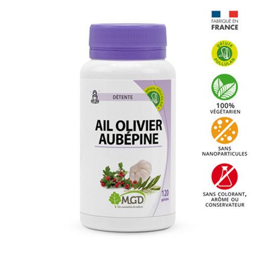 Ail, olivier et aubépine