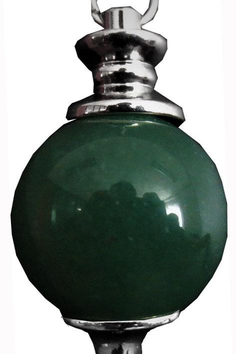Pendule Sphère Aventurine Verte 4 cm