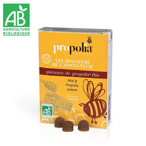 Gommes Propolis Bio Miel Agave 45 gr