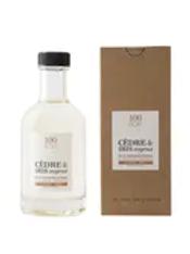 Eau de parfum 100 bons Cèdre & Iris soyeux 200 ml