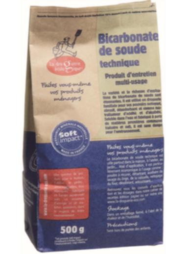 Bicarbonate de soude 500g Sac