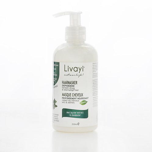 Masque cheveux extrait de laurier et beurre de karité 250 ml