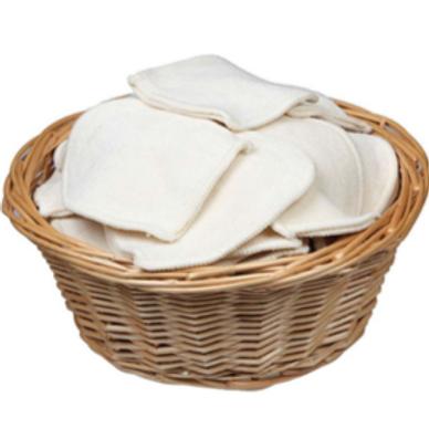 Sachet de 4 mini gants à démaquiller lavables