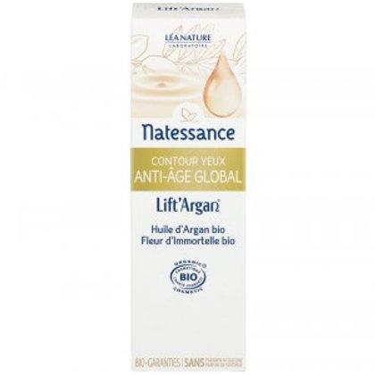 Contour yeux Anti-âge global bio 20 ml Lift'Argan