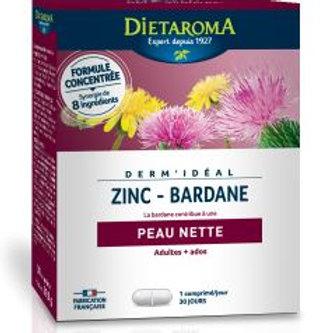 Dermidéal (Zinc-Bardane) 30 comp