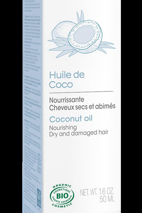 Huile de beauté : huile de coco bio 50 ml