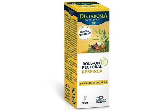 Respirea Bio Roll-On pectoral 50 ml