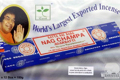 Encens Satya Nag Champa 15 gr
