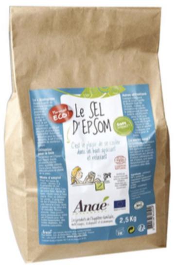 Sel d'Epsom 2.5kg sac