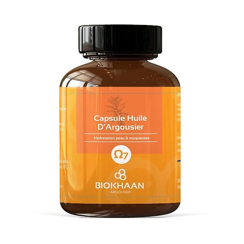 Huile d'argousier Bioméga 7 - 100 capsules