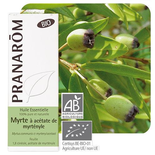 Huile essentielle Myrte à acétate de myrtényle - feuille BIO 10 ml