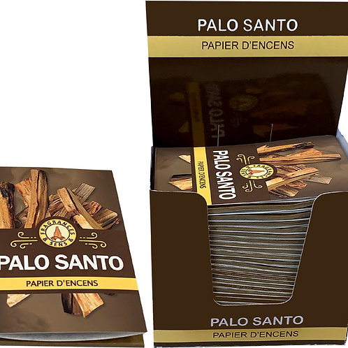 Papier d' encens fragrance et sens Palo Santo
