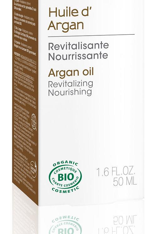 Huile de beauté : huile d'argan équitable 50 ml flacon plume
