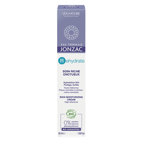 REhydrate - Soin riche réhydratant bio - 50 ml Jonzac