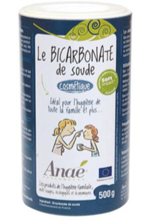Bicarbonate de soude cosmétique 500g tube