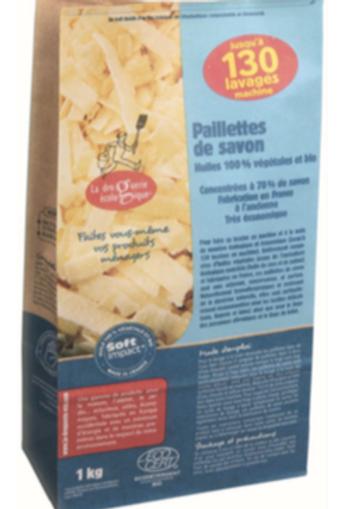 Paillettes de savon huiles bio 1kg Sac