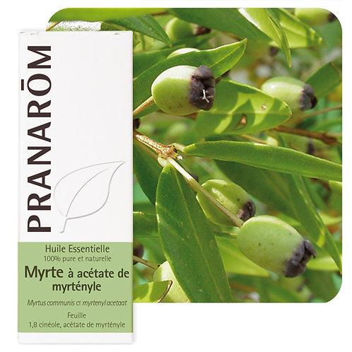 Huile essentielle Myrte à acétate de myrtényle - feuille 10 ml