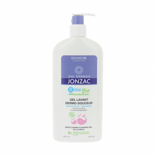Bébé - Gel lavant dermo-douceur bio - 500 ml Jonzac