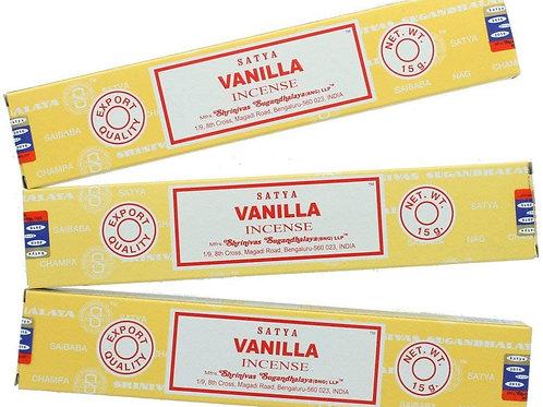 Encens satya vanille 15 g