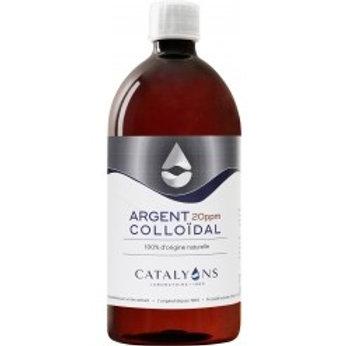 Argent colloïdal 20 ppm - 1 L