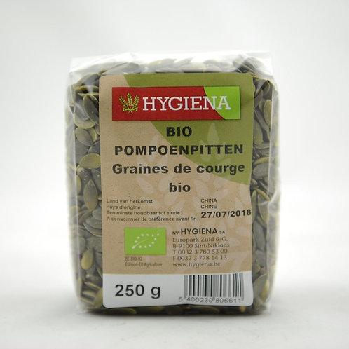 HYG Graines de courge bio 250 g