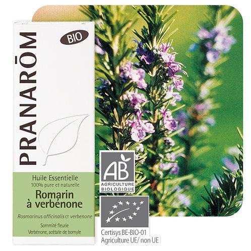 Huile essentielle Romarin à verbénone - sommité fleurie BIO 5 ml