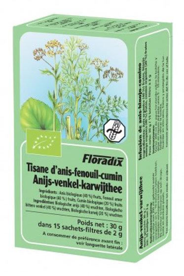 Salus Anis-Fenouil-Carvi Bio 15 infusions