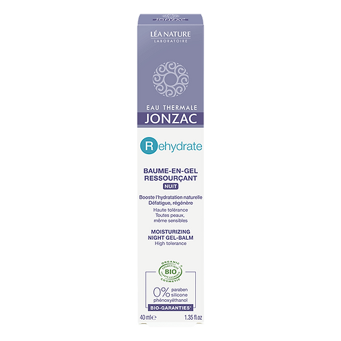 REhydrate + Baume-en-gel nuit H2O Booster bio 40 ml Jonzac