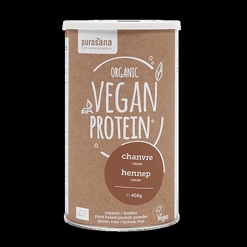 Protéines de chanvre cacao Bio 400 gr