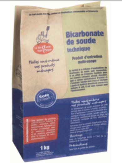 Bicarbonate de Soude 1k Sac
