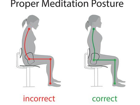 Details on Proper Meditation Posture