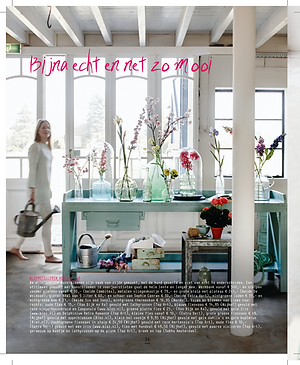 Blos magazine lifestyle flowers