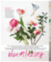 Blos Libelle Flowers peony rose tulip