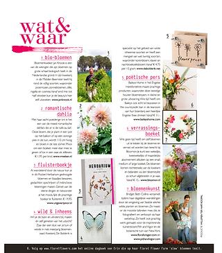 Blos magazine flowers lifestyle