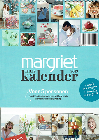 Margriet weekly magazine lifestyle calender