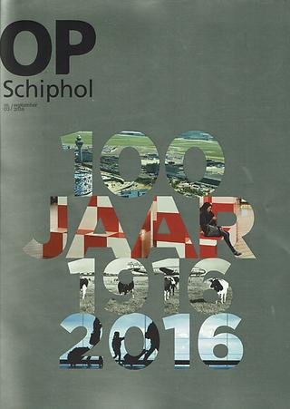 Schiphol 100 year issue magazine