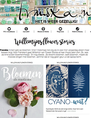 Flowerstories Franska Willemijn blog lifestyle flowers