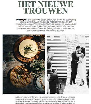 Engaged wedding flowers willemijn franska