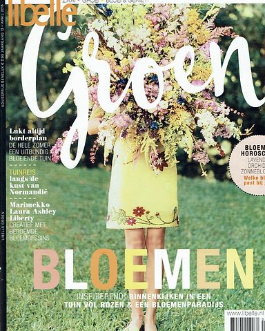 Flowerstories Libelle Groen Willemijn