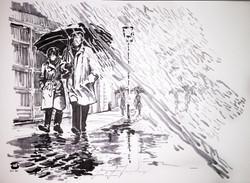 Rain In Moscow by Taty Payansky