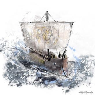 Корабль Греков. Таис Афинская.jpg