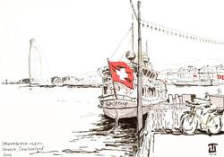 Geneve sketch by Taty Payansky