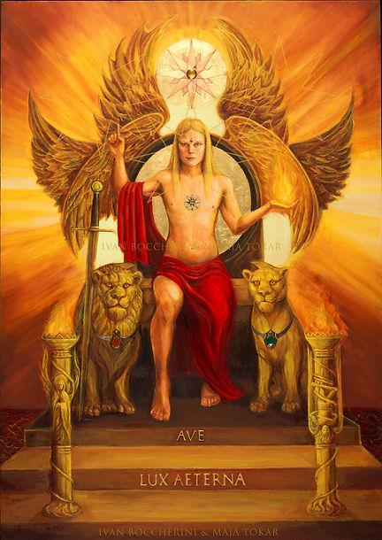 Ave Lux Aeterna. Light Bringer Enthroned