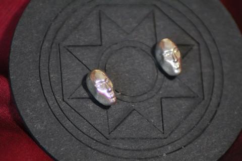 Meditating Faces Earrings