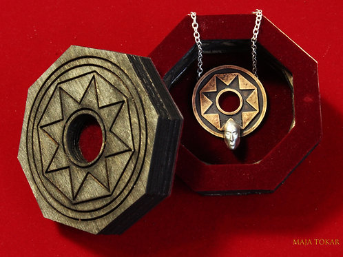 SON Of The SUN Silver and bronze Talisman