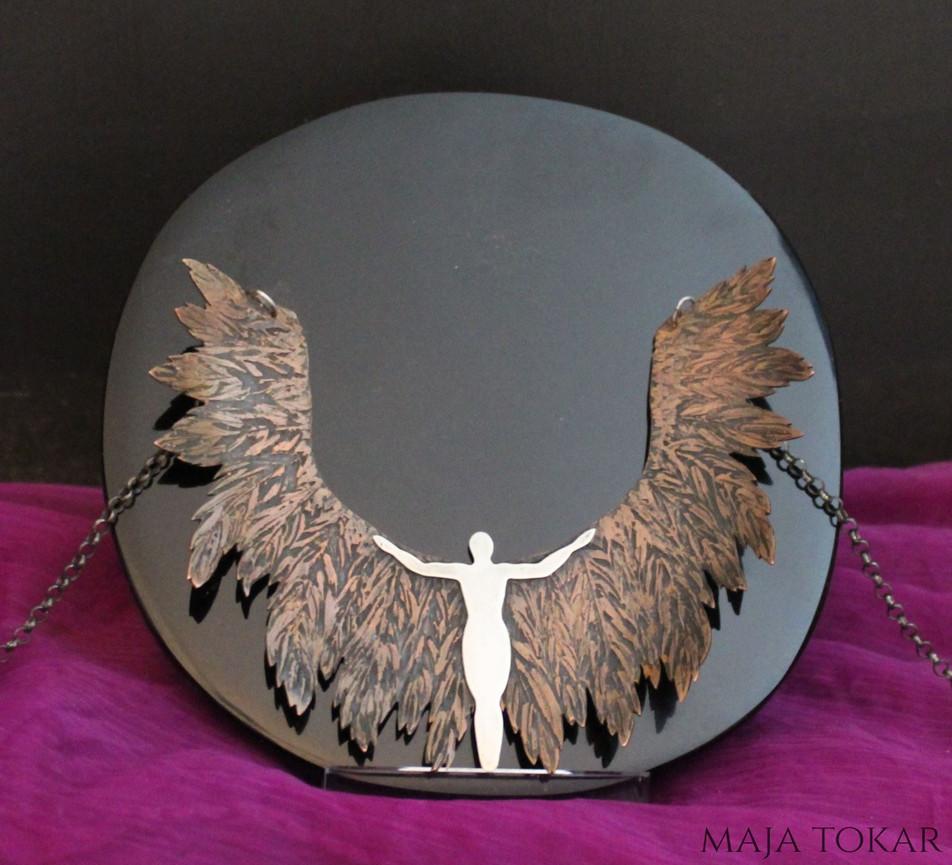 Light Bringer Angel Neckpiece